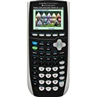 Texas Instruments TI-84 Plus C Silver Edition Graphing Calculator, Black (Renewed)