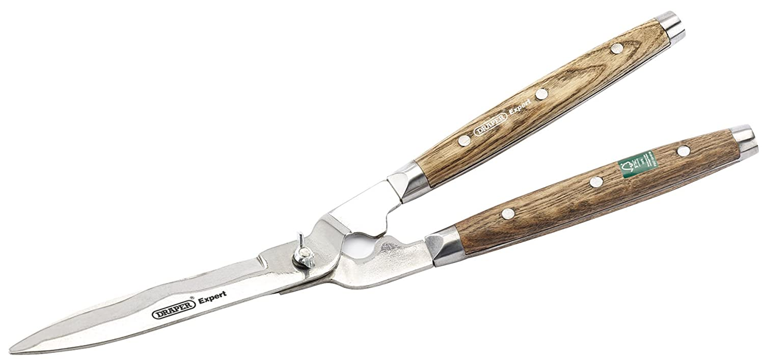 Draper 170 mm Expert 36559 Heritage Straight Edge Garden Shears with FSC Certified Ash Handles