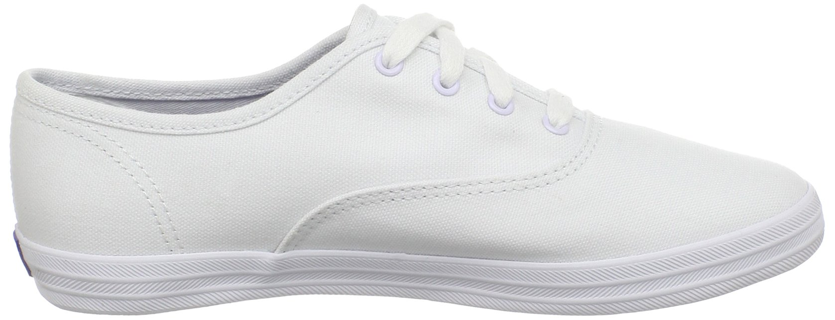 Keds girls Original Champion CVO Sneaker ,White Canvas,1 W US Little Kid by Keds (Image #7)