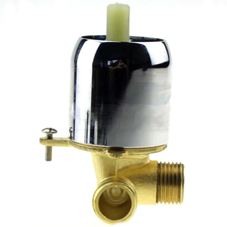DE SALLE DE BAIN Laiton plaqu/é chrome Robinet mitigeur Baignoire encastr/é robinet Salle de douche