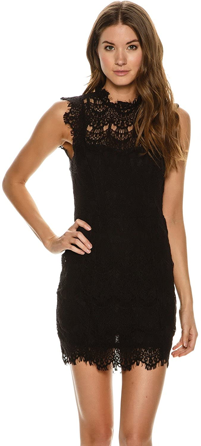 0a447397abda Fre People Women's Daydream Lace Dress at Amazon Women's Clothing store: