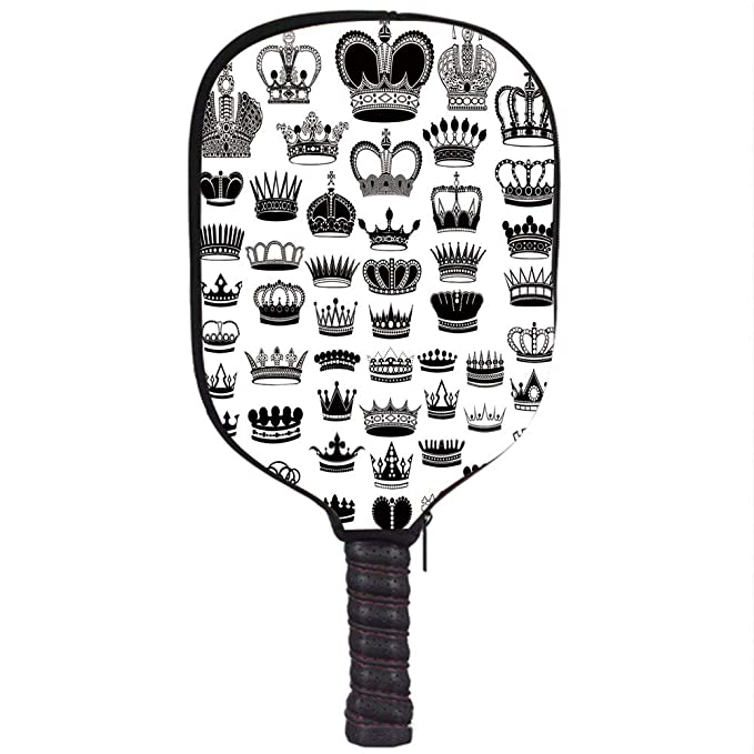 Amazon.com : iPrint Neoprene Pickleball Paddle Racket Cover ...