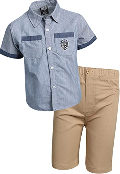 Quad Seven Boys 2-Piece Shorts Set Outfit