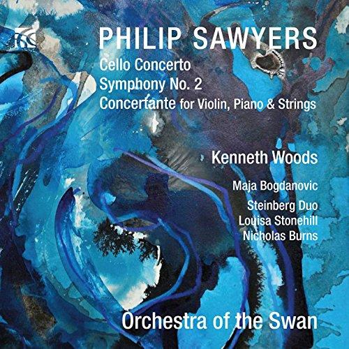 Sawyers: Cello Concerto, Symphony No. 2 & Concertante for Violin, Piano and Strings