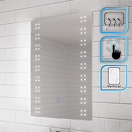 Elegant 500 X 700mm Illuminated Led Bathroom Mirror Backlit Light