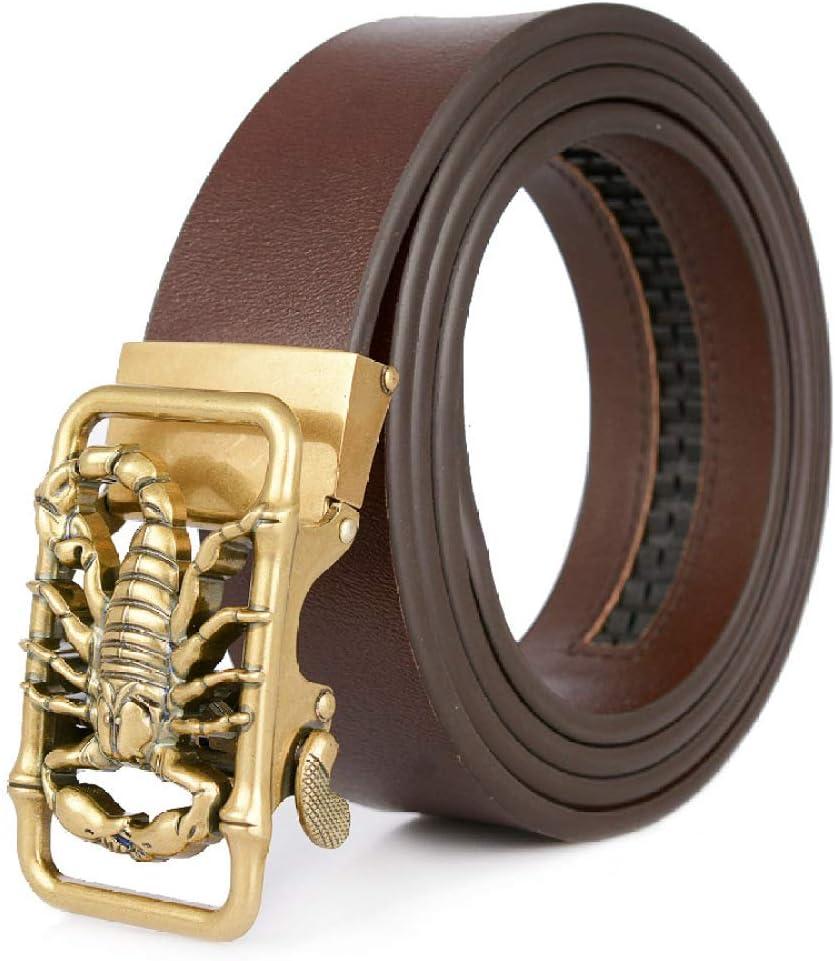 longhua Cinturón Cinturón de Cuero Informal Regalo de San Valentín Regalo para Hombres Cuero B