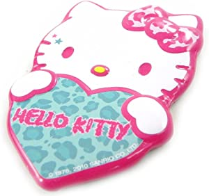"""Magnet """"Hello Kitty"""" turquoise pink."""