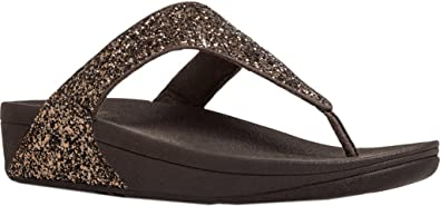 82b961d288e5 Fitflop Womens Glitterball Toe Post Sandal  Amazon.co.uk  Shoes   Bags