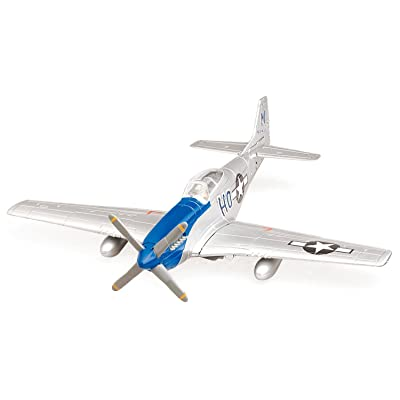 New Ray WWII Fighter Plane Model Kit: Toys & Games
