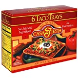 Casa Fiesta Taco Trays, 4.2-Ounce Boxes (Pack of 12)