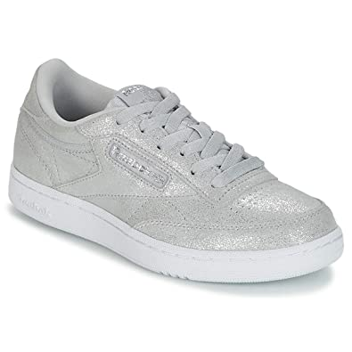 557b5b386fc14 Reebok Club C Chaussures de Fitness Fille  Amazon.fr  Chaussures et Sacs