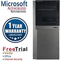 Dell 960 Business High Performance Tower Desktop Computer PC (Intel C2D E8400 3.0G,4G RAM DDR2,250G HDD,DVDRW,Windows 10 Professional)(Certified Refurbished)