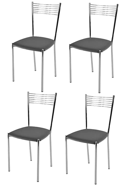 Tommychairs Set 4 sedie Moderne e di Design Elegance per Cucina Bar ...
