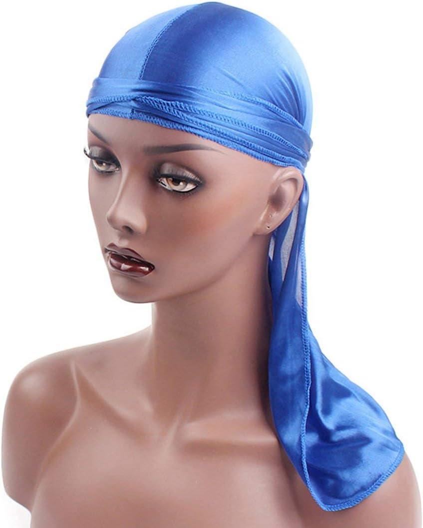 Vige 1PC Long Tail Braid Stirnband Piratenhut Flexible Baotou Hut Essential Beauty 1