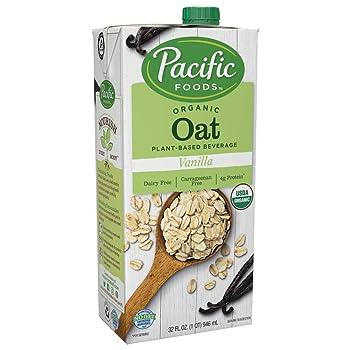 Pacific Foods Organic Oat Vanilla Oat Milk