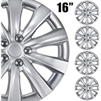 """BDK (4-Pack Premium 16"""" Wheel Rim Cover Hubcaps OEM Style for Toyota Camry Style… photo"""