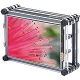 TFTタッチスクリーン Acouto 3.5インチ 320 x 480解像度 TFT LCD抵抗タッチスクリーンディスプレイ + ラズベリーパイ3B+用 アクリルケース