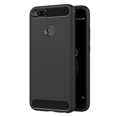 Coque silicone gel Noir Xiaomi Mi A1 obzDzYoAG