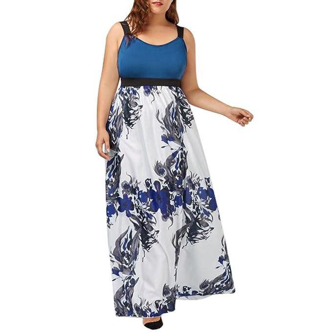 OYSOHE Heiß!!!Damen Vogue Kleid, Neueste Plus Size Frauen Floral ...