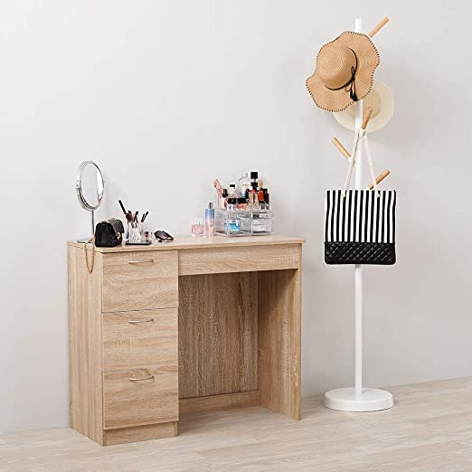 Soddyenergy - Mesa de tocador con 3 cajones para Maquillaje ...