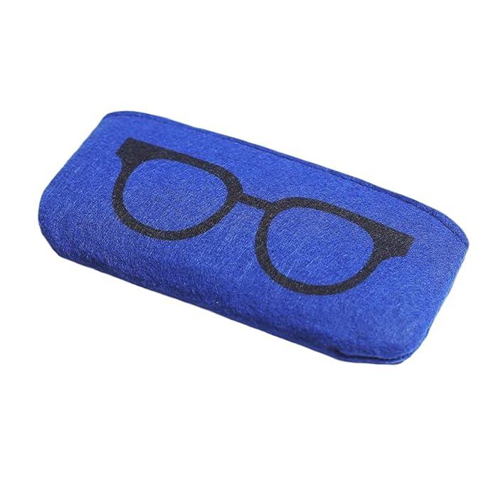 Amazon.com: anteojos, de fieltro bolsa de funda de anteojos ...