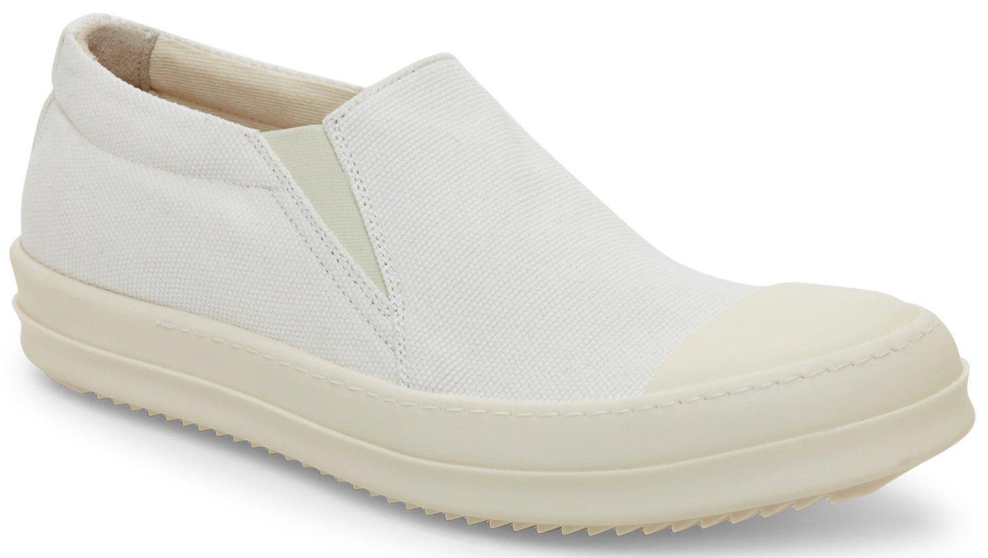Rick Owens DRKSHDW Platform Slip-On Boat Sneaker (Size 45 EU; 12 US)