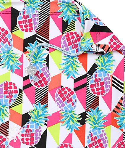 Cheap Snowflake Designs Cabana Pineapple Gymnastics Grip Bag