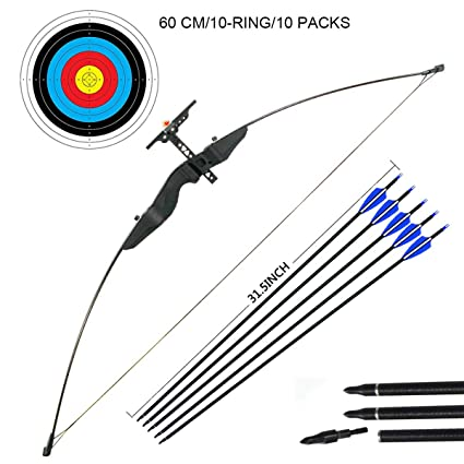 Dostyle Outdoor Recurve Bow and Arrow Set Archery Training Toy