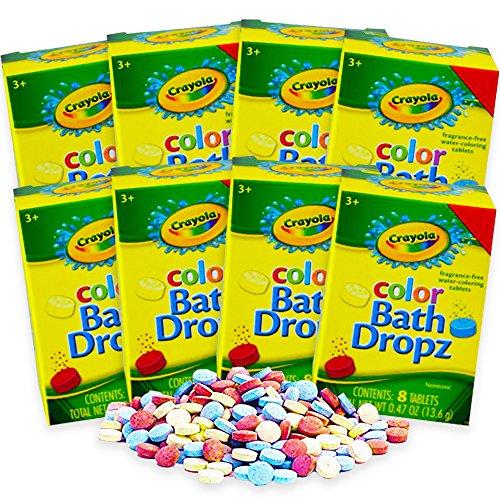 Crayola Bath Dropz (64 Tablets)