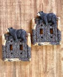 The Lakeside Collection Set of 2 Double Switch Plate Covers
