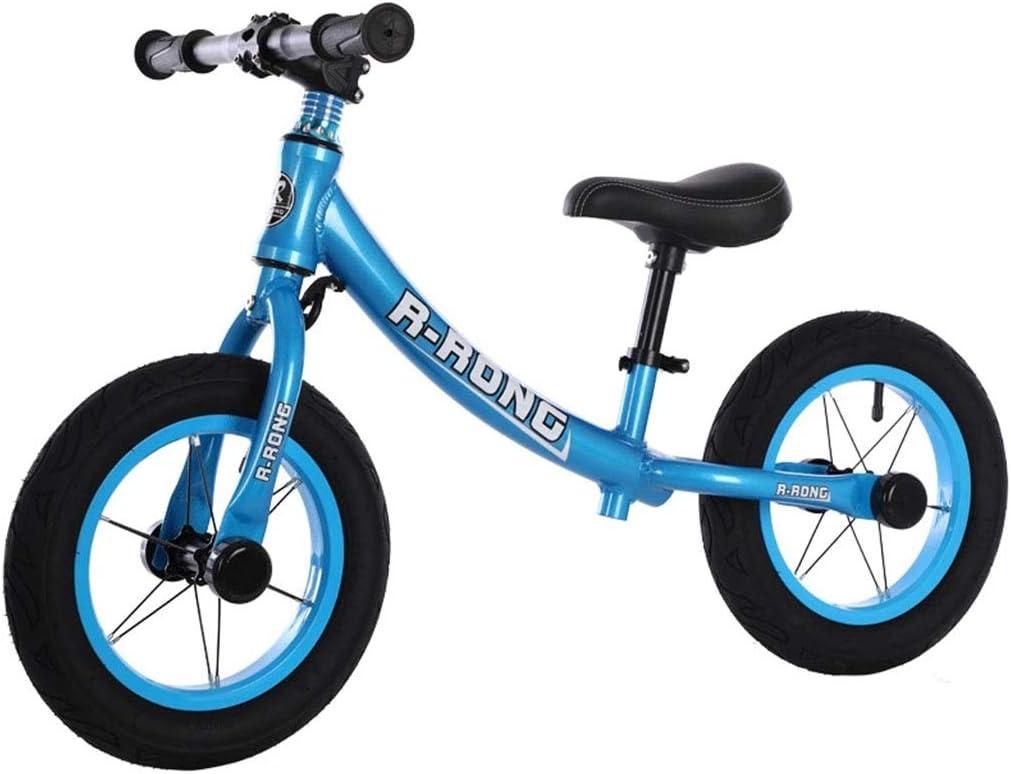 KELITE Ejecución de Equilibrio de Bicicletas for niños Marco de aleación de Aluminio sin Pedal de la Bicicleta del Entrenamiento con Ajustable Manillar/Asiento de 2-6 años