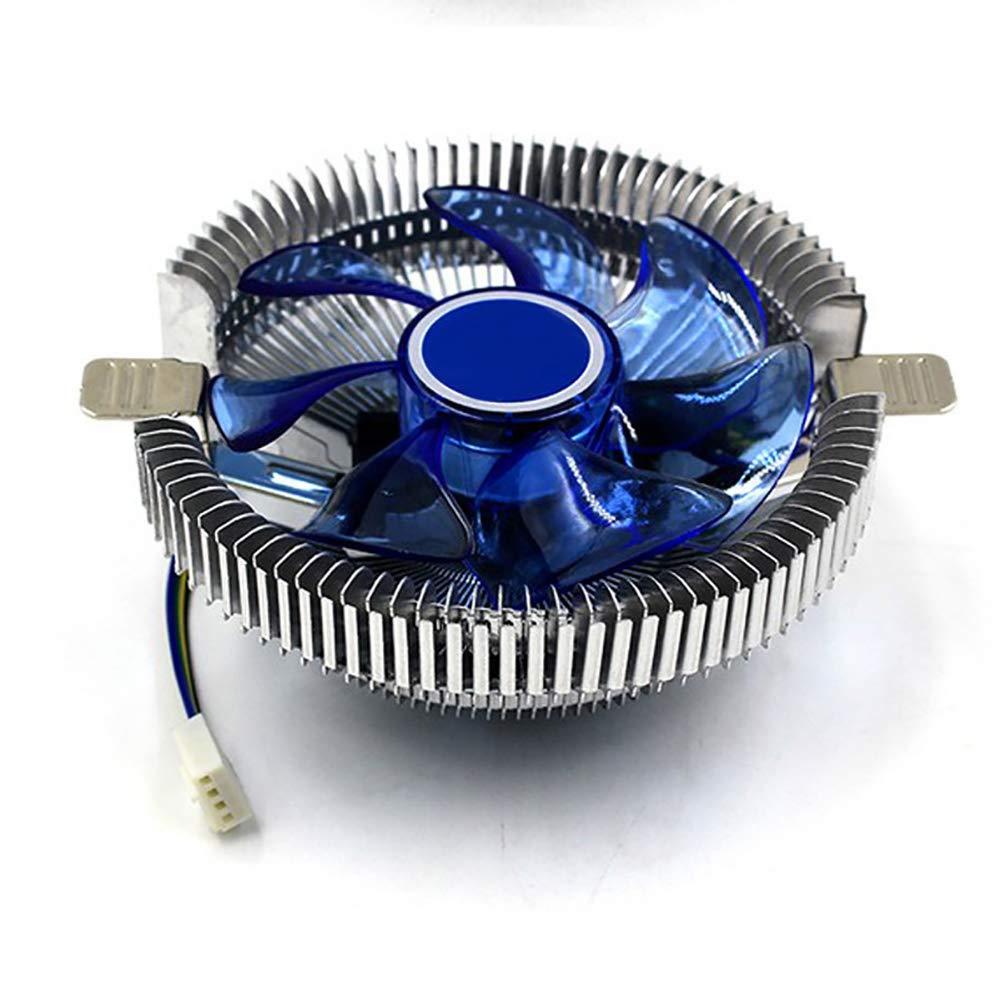 Dandeliondemeuniversal 12/V DC Ventilateur CPU Cooler Dissipateur de Chaleur pour Intel Socket LGA 1155/1156/775/Anti-surchauffe