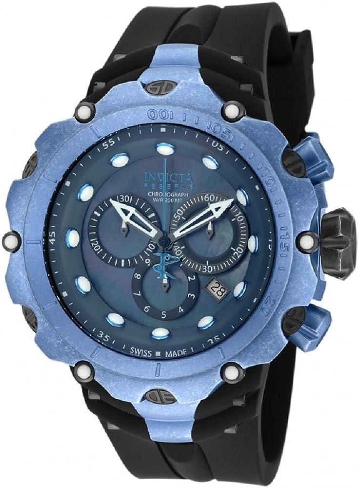 Invicta Distressed Metal Finish Reserve 52mm Venom Gen II Swiss Made Quartz Chronograph Watch 18453