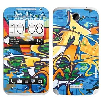 Diabloskinz B 0077-0019-0005 Skin para HTC One X/con diseño ...