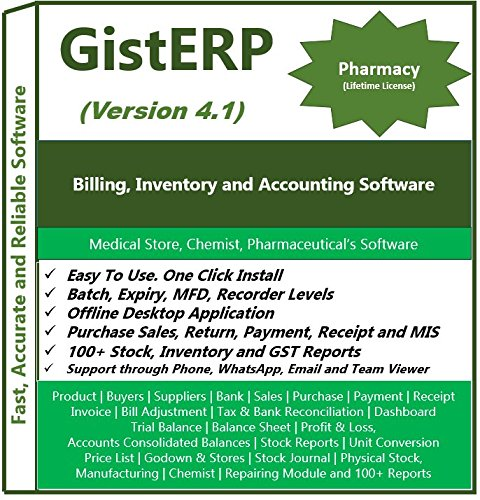 Pharmacy Billing, Inventory and Accounting Software - Multi Store - Batch - Billings Stores