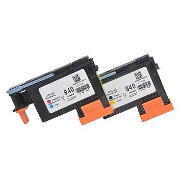 Wenon 2 Pack HP 940XL 940 Cabezal de impresión C4900A C4901A ...