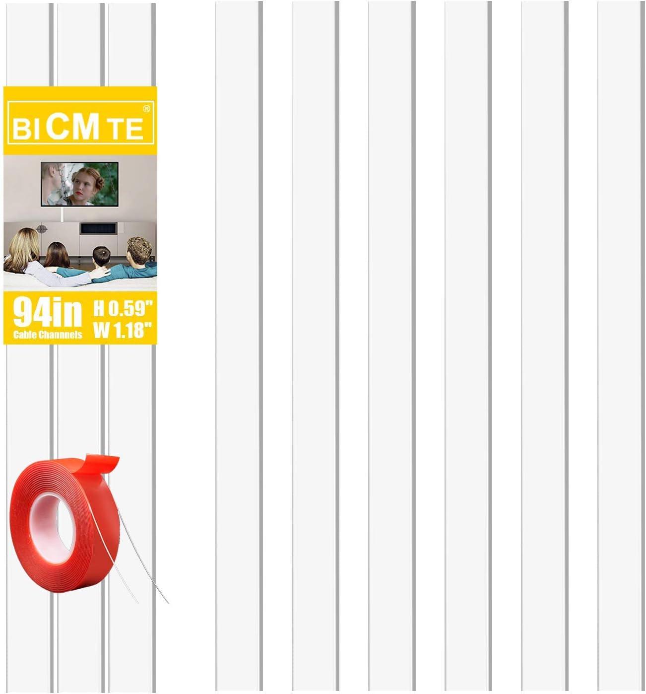 Kabelkanal Weiss 2 4m 6 Stk 30x15mm Tv Kabelkanal Kabelkanal Selbstklebend Weiss Mit Selbstklebendes Klebeband Und Schrauben Zum Kabel Verstecken Bei Kabelsalat Baumarkt