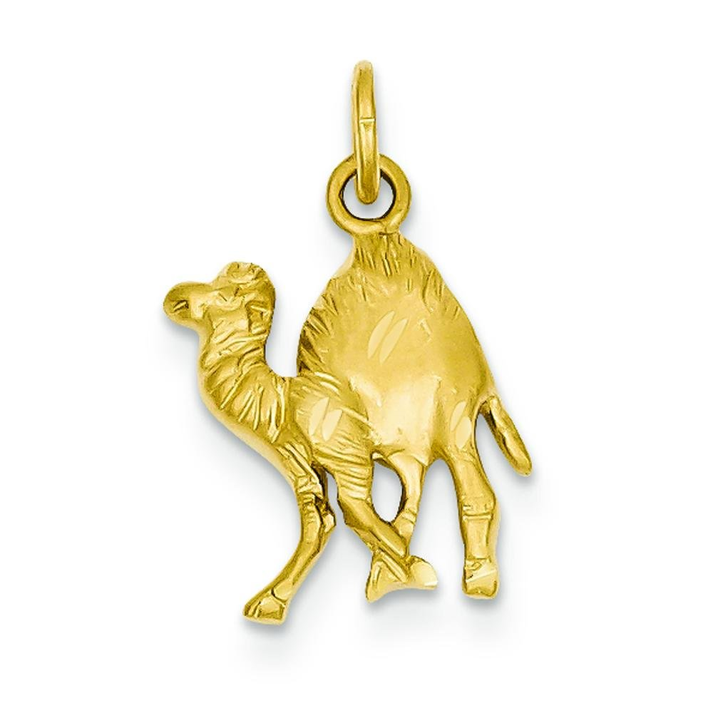 14K Gold Camel Charm Jewelry FindingKing