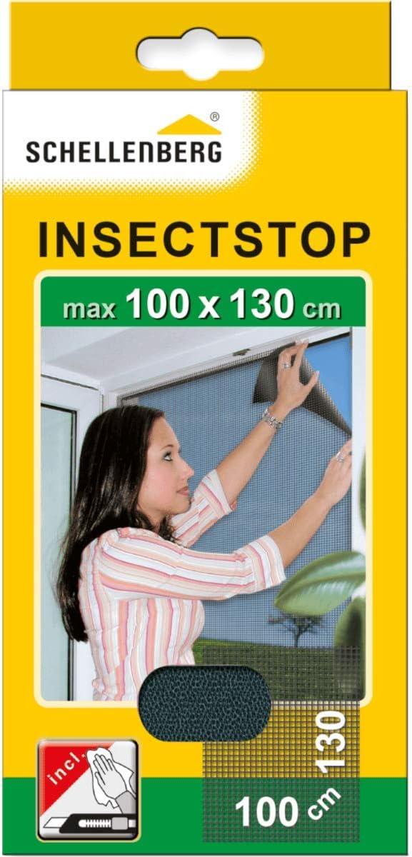 Schellenberg 50713 - Mosquitera, protección anti insectos y moscas para ventanas