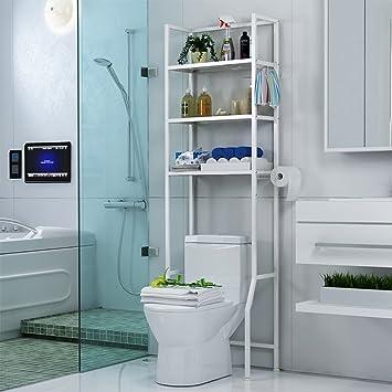 Badezimmerregale HWF Toilette Regal Badezimmer Boden Racks ...