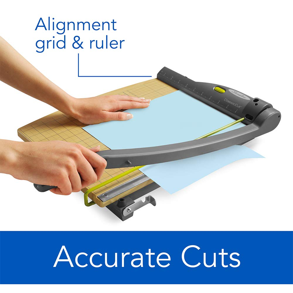 ClassicCut with Laser 9715 15 Cut Length Guillotine Paper Cutter 15 Sheets Capacity Swingline Paper Trimmer