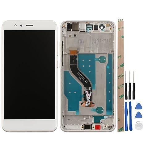 outlet seleziona per autentico design popolare Ocolor di riparazione e sostituzione per Huawei P10 Lite,LCD Display +  Touch Screen Digitizer con Utensili Inclusi (Bianca +telaio)