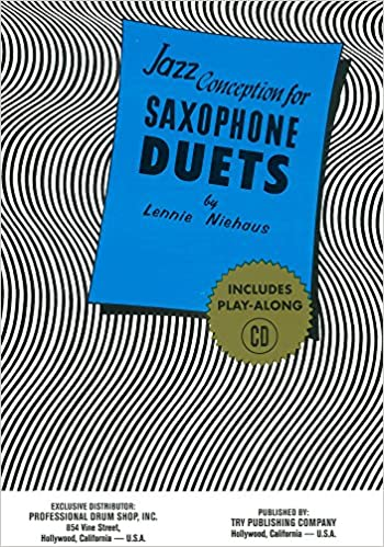 TRY1061 - Jazz Conception for Saxophone Duets Book/CD