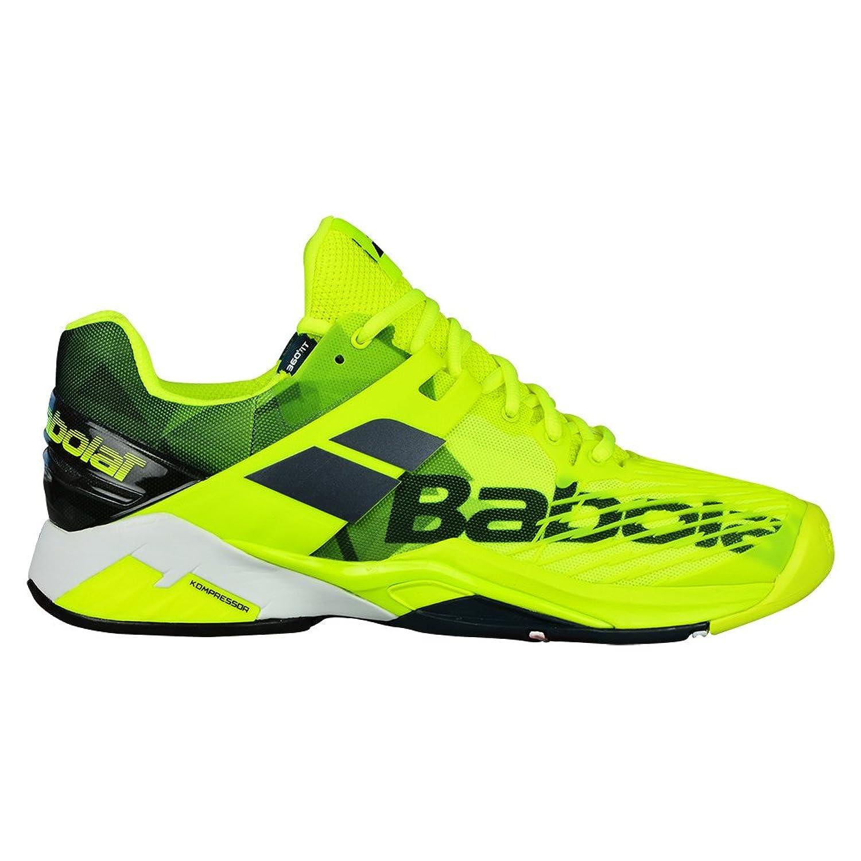 Babolat Propulse Fury Clay Mens Tennis Shoes - Yellow/Black B079TFFW9G 7.5 D(M) US
