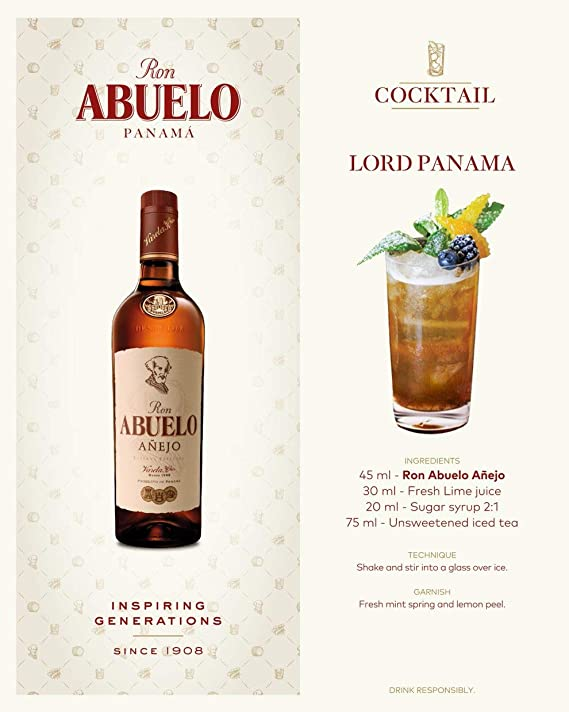 Ron Abuelo Ron Abuelo Añejo Reserva Especial 40% Vol. 0,7L - 700 ml