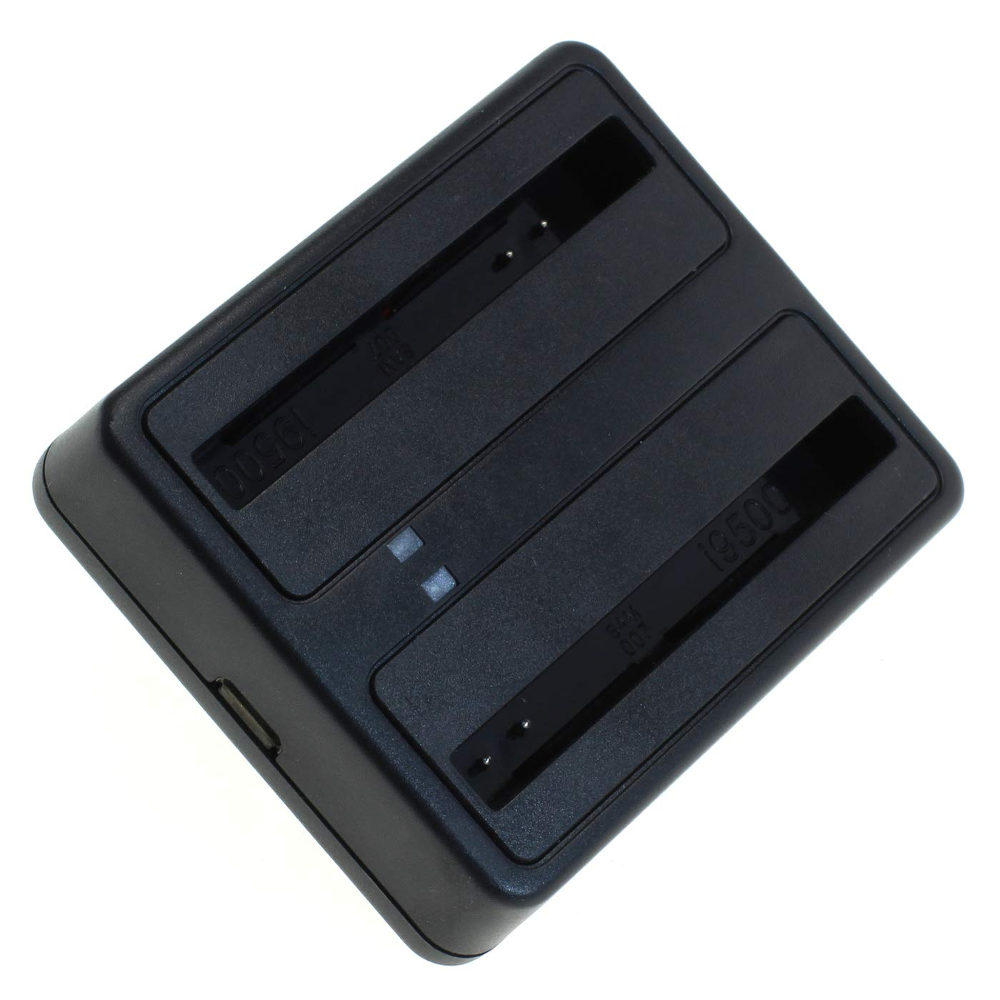 schwarz Galaxy S5 SM-G900 OTB Akkuladestation 1802 Dual kompatibel zu Samsung BG900BBE
