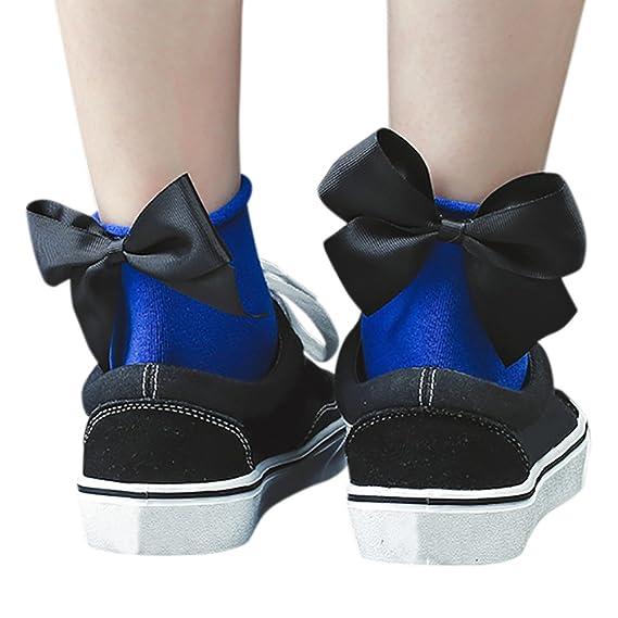 ishine calcetines mujer divertidos calcetines ciclismo con 6 colores: Amazon.es: Ropa y accesorios