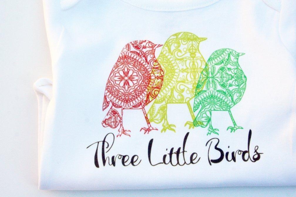 Three Little Birds, Reggae Onesie, Bob Marley Clothes, Reggae Baby Onesie, Rasta Onesie, Reggae Music Onesie, Rasta Baby Clothes