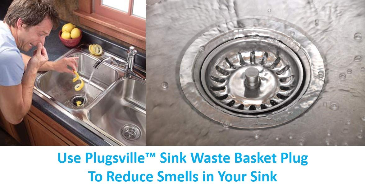 /79/mm di diametro /Premium/ /Filtro per lavello cesto rifiuti Plug 7,9/cm/ Best Fit/