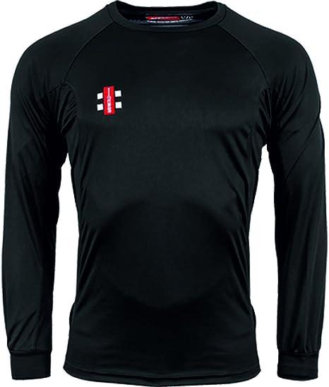 Gray Nicolls Kids Matrix Ivory Trim Short Sleeved  Cricket Shirt